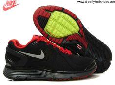 New Mens Nike LunarEclipse 2 Black Sport Red Lightweight Shoes