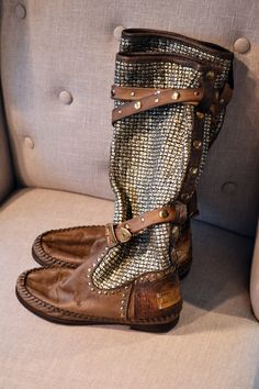 Another rad pair of uniquely boho boots by Karma of Charme. They look super comfy too!