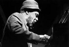 Jazz pianist great, Thelonious Monk.  I do love a dissonant, unpredictable harmony.