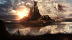 1920 × 1080 (20 Wonderful Fantasy/Sci-Fi HD Wallpapers by Martina Stipan)