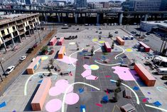 The 2017 Best of Design Awards goes to Endemic Architecture's flexible and fun Confetti Urbanism, a temporary take over of the CCA's back lot.
