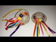 CHAPEUZINHO JUNINO DE FELTRO - FRANCI ARTESANATO - YouTube Diy Arts And Crafts, Diy Crafts, Birthday Party Hats, Crazy Hats, Flower Letters, Paper Crafts Origami, Diy Hair Bows, Diy Hair Accessories, Hat Making