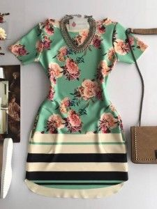 Compre Vestido Feminino pelo Menor Preço e encontre tudo em moda feminina para renovar seu guarda roupas. Elegant Dresses, Sexy Dresses, Cute Dresses, Dress Outfits, Casual Dresses, Cool Outfits, Fashion Outfits, Fancy Gowns, Korean Dress