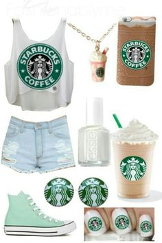 Starbucks outfit Duh