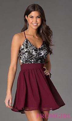 Strapped Short Formal Dresses for Teenagers
