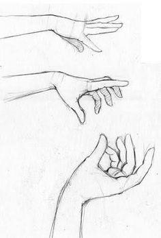 Resultado de imagen para how to draw hand reaching out