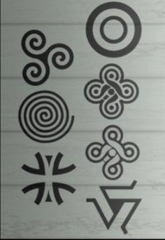 Teen wolf symbols