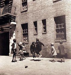 The old days of when. Harlem Kids on Harlem Turf.