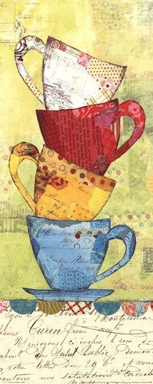 Come For Coffee by Courtney Prahl art print