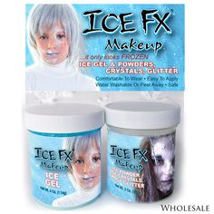 Contains: • 1 Jar Ice Gel (4 oz.) •1 Jar Mixed Sized Crystals, Powder & Snow Frost Glitter (3 oz.)