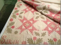 This quilt is so beautiful.  The link has several pictures to see the whole quilt. (1847)