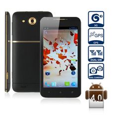 Haipai X720D Smart Phone Android 4.0 MTK6577 3G GPS WiFi 4.7 Inch capacitive touch screen Black www.ipromarket.co..., $194.99