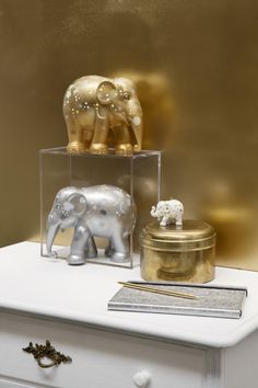 #rikkitikki #elephantparade #sparkling #celebration #silver #gold #homedecor #decoration
