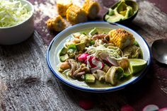 Corn-Seafood Stew With Avocado and Chiles Recipe - NYT Cooking