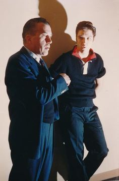 Ed Sullivan and Elvis Presley