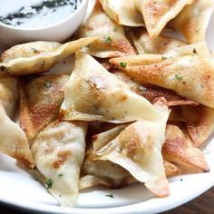 4-Ingredient Easy Potstickers are juicy inside and super crispy outside! Make them for dinner!