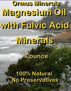 8 Best (FH)-FULVIC ACID MINERALS Ormus Minerals images in 2018