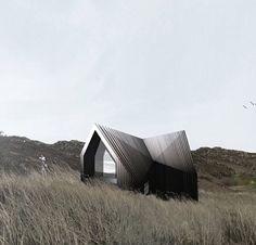Modern House on the Prarie. Dezeen, Scottish Highlands, Galvanized Steel, Deep Sea, New Art, Outdoor Gear, Design Art, Architecture Design, Tent