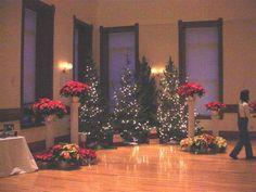 Christmas themed wedding at the Provo Library Ballroom Venue Christmas Themes, Holiday Decor, Work Party, Christmas Wedding, Save The Date, Utah, Liberty, Reception, Wedding Ideas