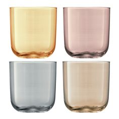 Discover the LSA International Polka Assorted Tumblers - Set of 4 - Metallic at…