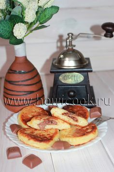 HowICook: Сырники с шоколадной начинкой