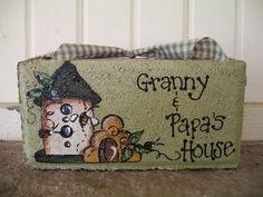 Cats, Kids and Crafts: Brick Craft