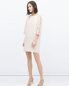 Image 1 of LONG-SLEEVED DRESS from Zara