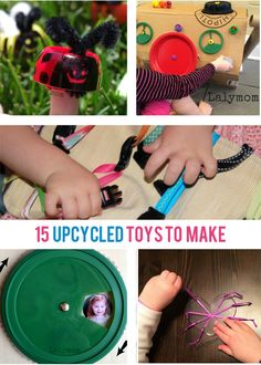 15 Upcycled Toys to Make at Home - Kids Activities Blog