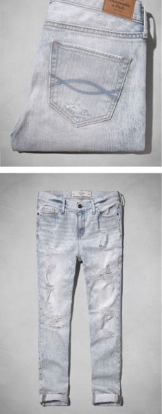 Abercrombie Boyfriend Jeans - Click to shop the collection!