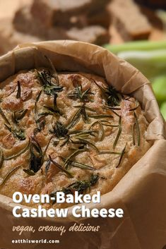 Baked vegan cheese recipe 🤤🤤🤤 Vegan Cheese Recipes, Cashew Cheese, Baked Cheese, Savoury Dishes, Oven Baked, Plant Based Recipes, Tasty, Baking, Ethnic Recipes