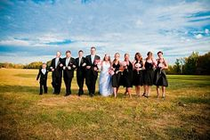 Our wedding party