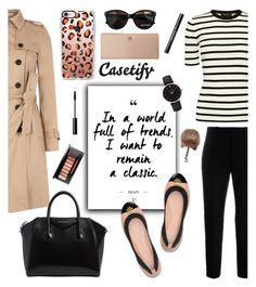 """""""Lucy Hale Collection+ Casetify"""" by glamorous09 ❤ liked on Polyvore featuring Theory, CLUSE, Casetify, Marni, Hobbs, Givenchy, Tory Burch and Max&Co."""