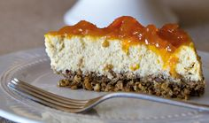 Cheesecake de canela e abóbora