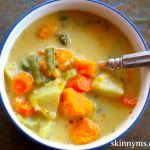 Skinny Slow Cooker – Veggie Pot Pie Stew