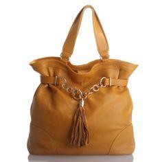 Stunning Yellow Soft Leather Handbag - AVA was $320 now $139.95