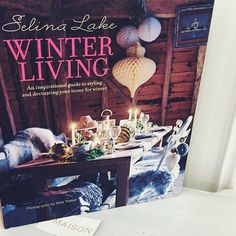 Excited to spot #selinalakewinterliving in the window of Maison in #richmonduponthames today & even did an impromptu #booksigning #winterliving #winter2015 #winterbook #winterhome #masionrichmond