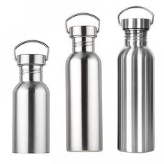 BY Stainless Steel Wide Mouth Outdoor Sports Portable Drinking Water Bottles - Bottle - Ideas of Bottle - BY Stainless Steel Wide Mouth Outdoor Sports Portable Drinking Water Bottles Price : Stainless Steel Thermos, Stainless Steel Water Bottle, Large Water Containers, Food Containers, Eco Friendly Water Bottles, Gold Bottles, Drinking Water Bottle, Flask, Layering
