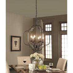 Moroccan 6-Light Dark Bronze Chandelier - Free Shipping Today - Overstock.com - 18915727