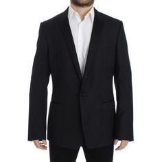 Dolce & Gabbana Blue wool slim MARTINI blazer