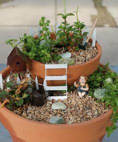 Cómo hacer un jardín en miniatura e imágenes de algunos preciosos