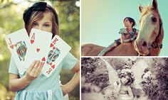 Adopted girl transforms herself into her favourite heroines