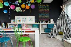 20 Stunning Basement Playroom Ideas