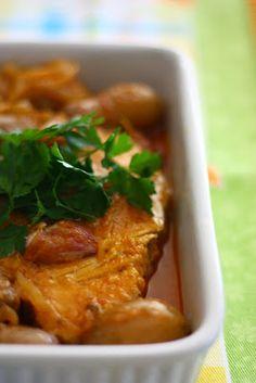 Atum com batatas novas