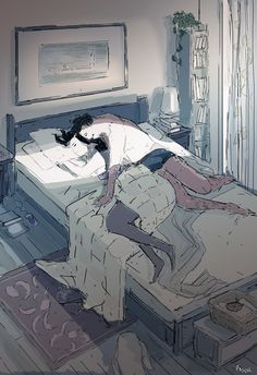 Not my best move. -Good morning honey. -hmmm....goodmorningbabe.... - I love you! -Iluvutoo.... - you look beautiful this morning.. -Tooearlyyournotgettingany.. -But I love you..? -Positivelyno -.... sigh! #pascalcampion