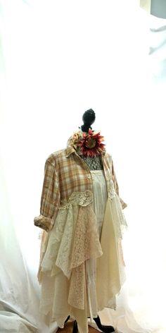 SALE Gypsy vagabond coat bohemian jacket boho by TrueRebelClothing, $110.00