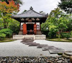 #kyoto #japan #japon #nippon #temple #kenninji #zen #zengarden #jardinzen #automne #fall