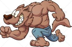 Running Werewolf  #GraphicRiver         Cartoon running werewolf. Vector clip art illustration with simple gradients. All in a single layer.     Created: 3September13 GraphicsFilesIncluded: VectorEPS Layered: No MinimumAdobeCSVersion: CS Tags: brown #cartoon #character #gradient #halloween #happy #illustration #isolated #jeans #monster #smiling #vector #werewolf #wolf