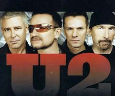 "U2  ""I still haven't found what I'm looking for""  ""With or without you"""