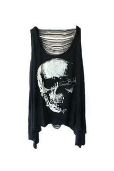 Skull Top MissIny.com