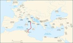 Caesar campaigns from Rome to Thapsus-fr.svg